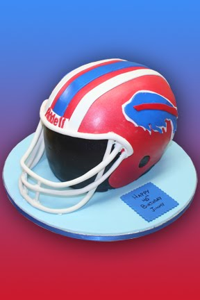 football helmet cake. football helmet cake is