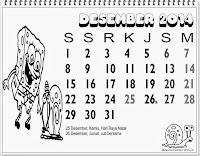 kalender indonesia 2014 lengkap desember