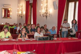 Público asistente al pleno del 25 de septiembre