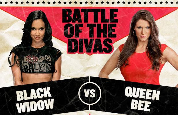 Divas Championship Match – AJ Lee vs. Stephanie McMahon Dolph Ziggler World Heavyweight Champion