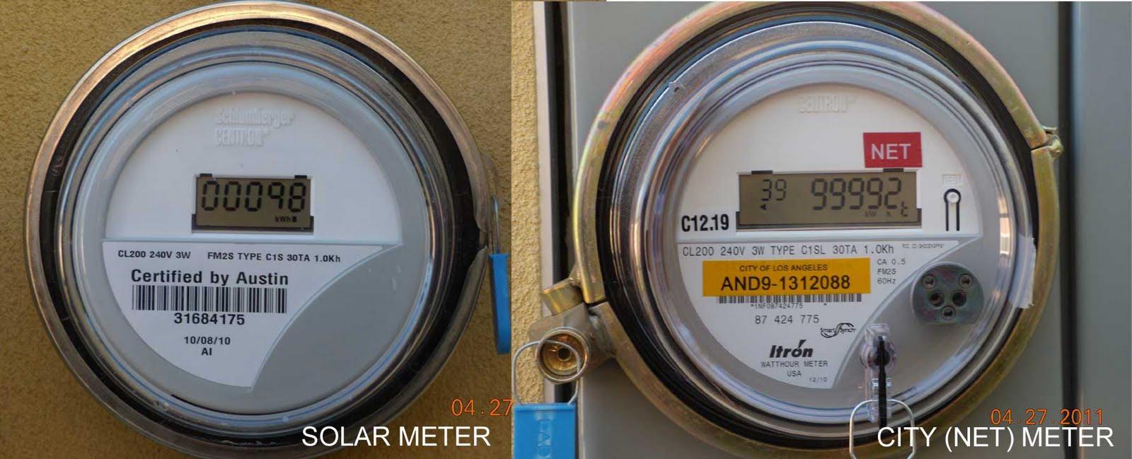 Net Meter Reading : Nobhillhaus net metering