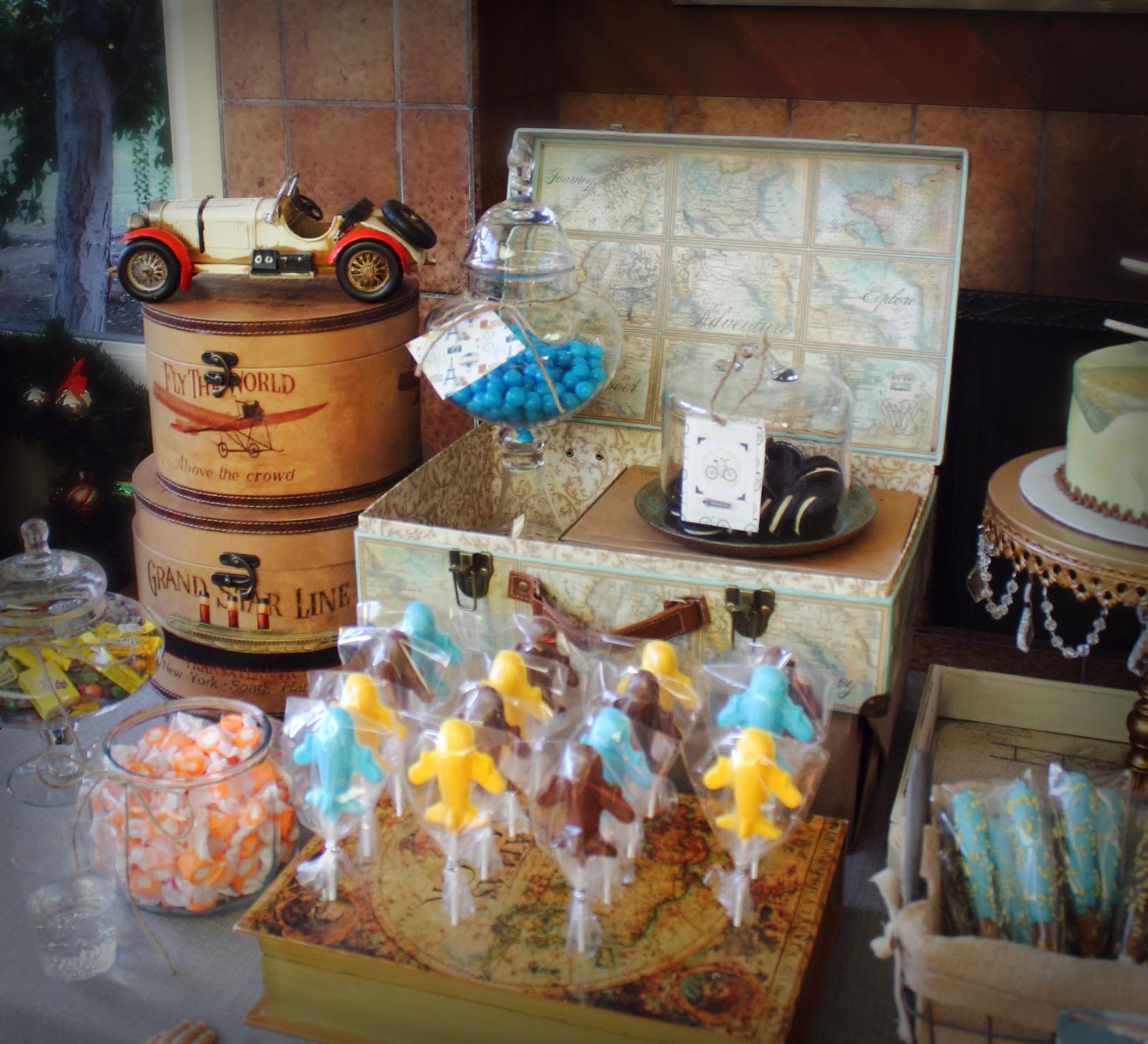 make it cozee travel themed baby shower