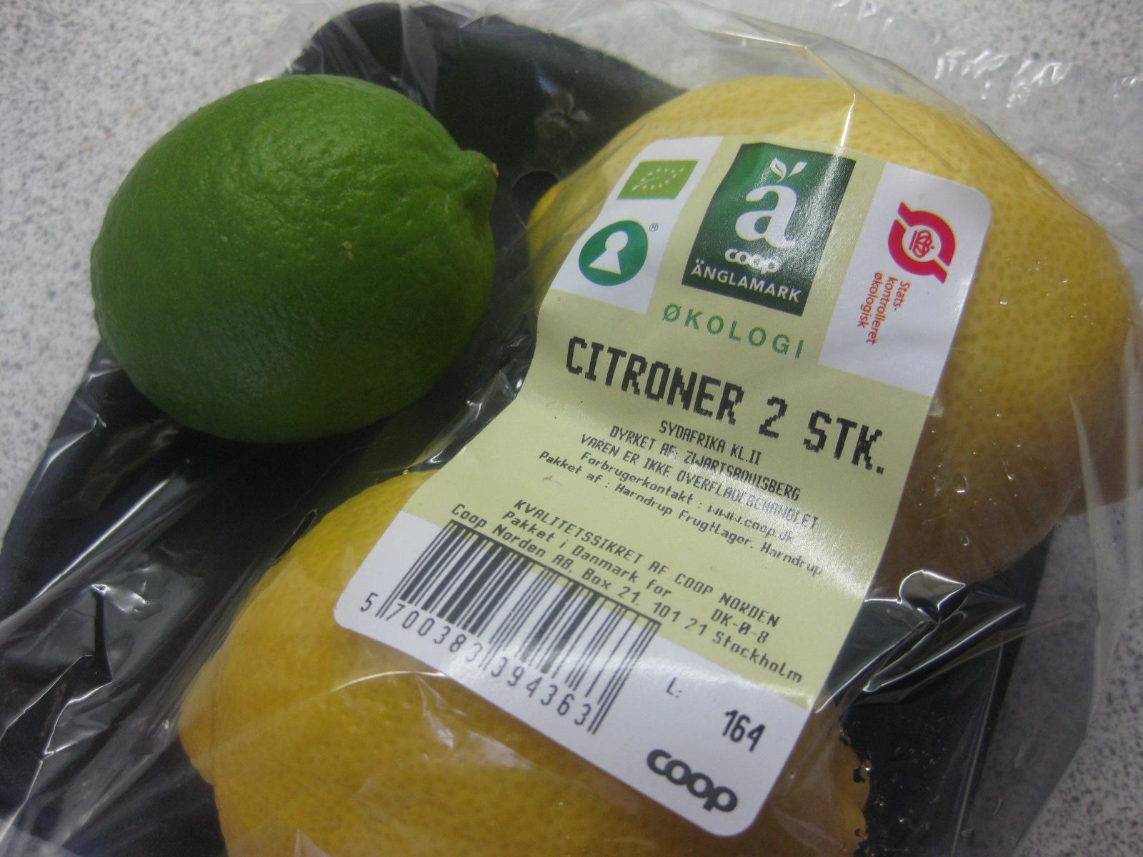 citronfromage uden fløde