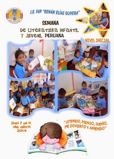 SEMANA DE LA LITERATURA INFANTIL Y JUVENIL PERUANA