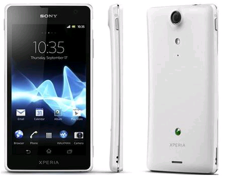Sony Xperia GX Officially Announced, Features 13MP Camera with Sensor and no Front Side Buttons