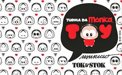 Magali e Cascão coleção Tok&Stok