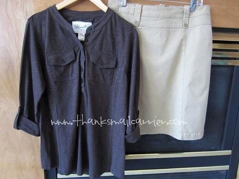 Aventura Clothing Ellery Henley Mariah Skirt