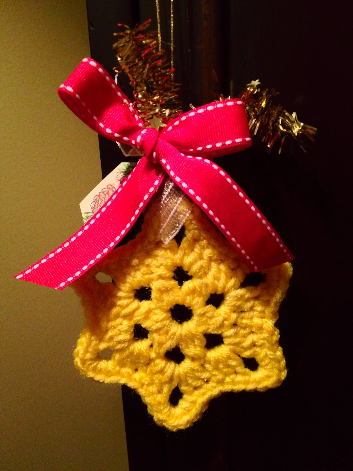 Crochet Ornaments : ... - My crochet and knitting ramblings.: Crochet Christmas Ornaments