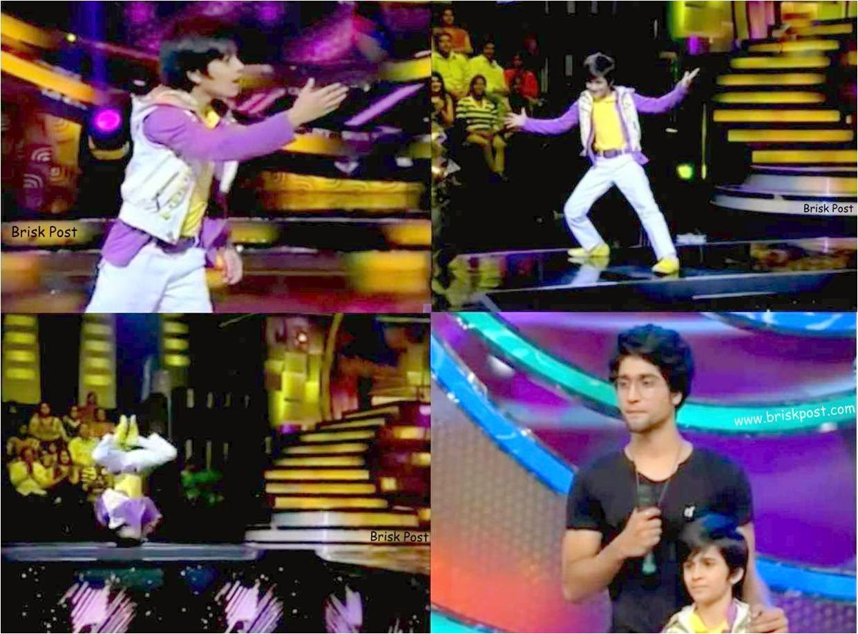 Hip Hop and Free Style by Hardik in DID Little Masters