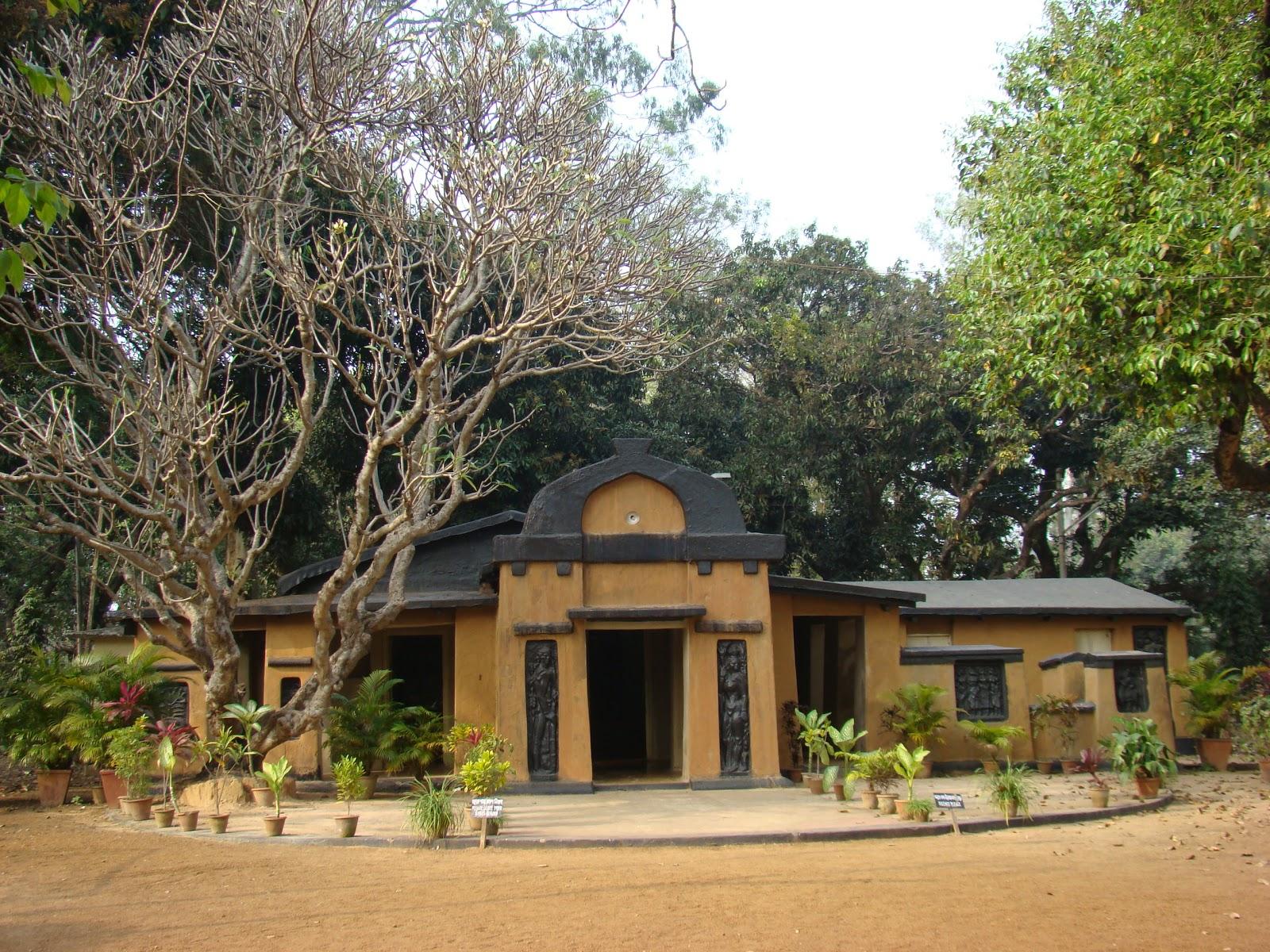 shantinikaten home of rabindranath tagore