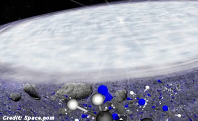 Ingredients for Life Found Around Distant Star