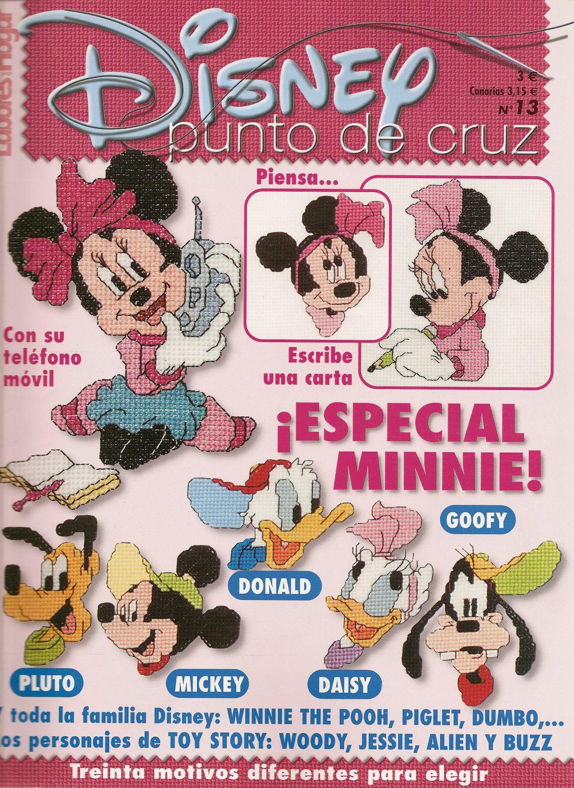 Revista  Disney Punto Cruz 13