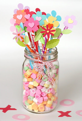 Mason Jar Party Vase