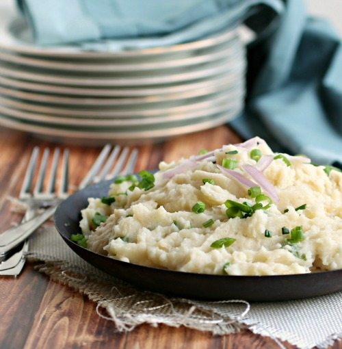 Caramelized Onion and Gruyere Mashed Potatoes