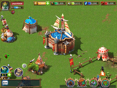 Goblin Legion IOS game like Clash of Clans