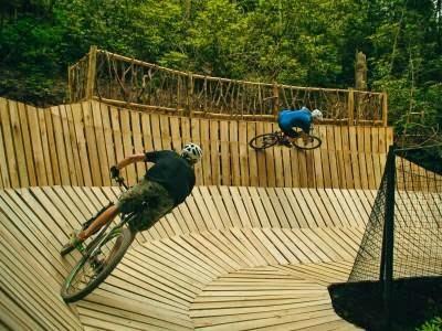 Looks like so much fun mountain biking at Climbworks