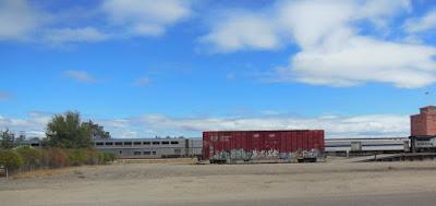 Amtrak Train in Paso Robles, ©B. Radisavljevic