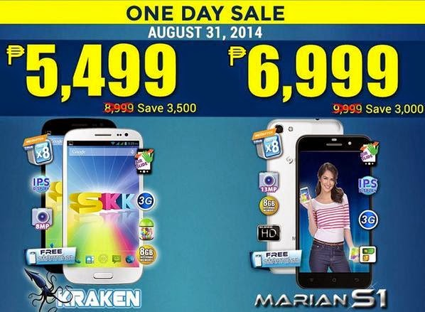 SKK Mobile Octa Core Sale, Get Up To Php3,500 Discount