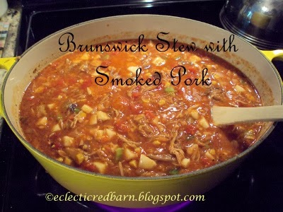 Eclectic Red Barn: Brunswick Stew with Pulled Pork
