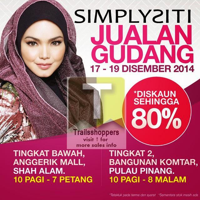 Simplysiti Warehouse Sale Penang Selangor 2014