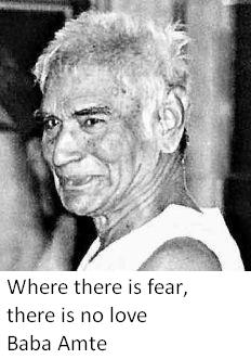 Baba Amte Quotes