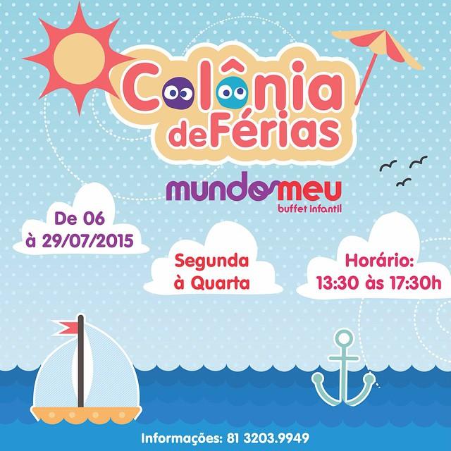 Colônia de férias em Recife julho 2015