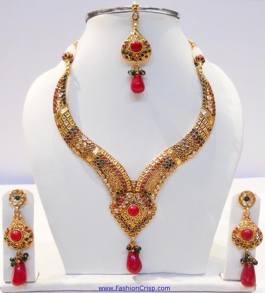 kundan jewellery necklace 39 s designs sudhakar gold works