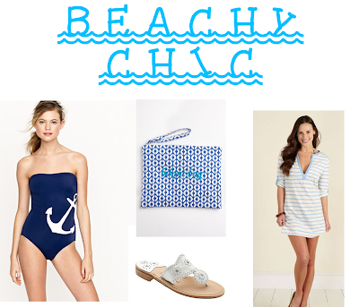 Nautical by Nature | Friday's Fancies: Beachy Chic