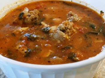 A bowl of Italian Peasant soup