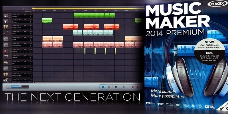 magix music maker 14 serial number free
