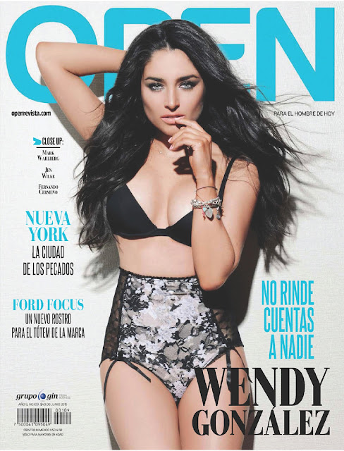 Model, Actress @ Wendy Gonzalez - Open Mexico, June 2015
