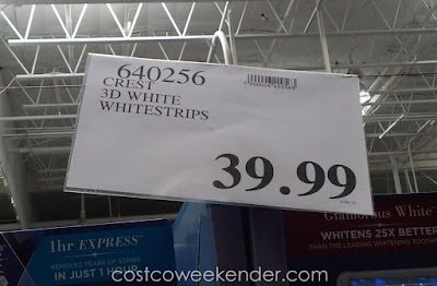 Deal for Crest 3D Whitestrips at Costco