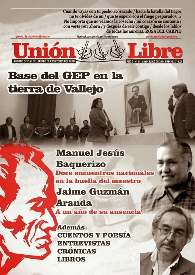 Unión Libre, revista del Gremio de Escritores del Perú