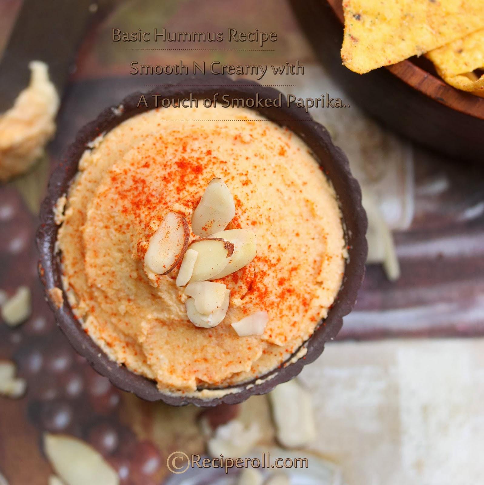 Basic Hummus Recipe ~ Sankeerthanam (Reciperoll.com)|Recipes | Cake ...
