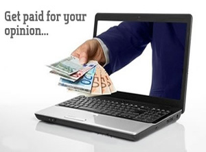 uang dari survei online, uang gratis dari internet, dibayar untuk opini anda, survei online terbukti membayar
