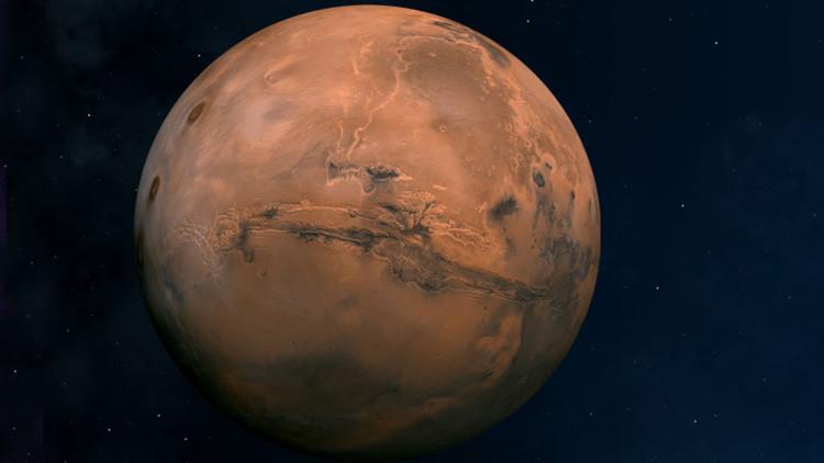 Científicos han descubierto en el cráter Gale de Marte una zona anómala