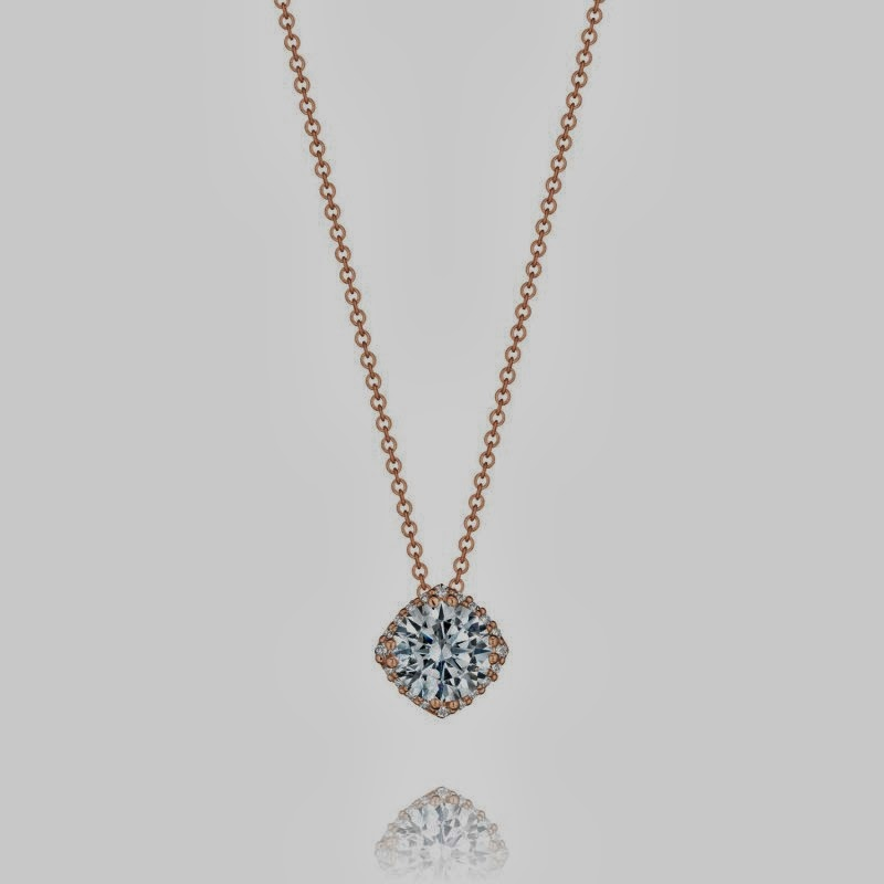 Tacori diamond Necklaces  Style # FP64365PK