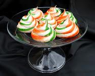 Vanilla Meringue Swirl Cookies