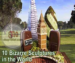 Top 10 Bizarre Sculptures in the World