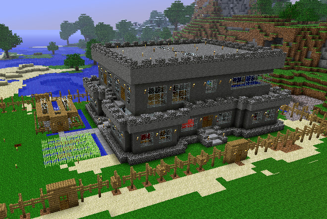 Awesome Minecraft Survival House