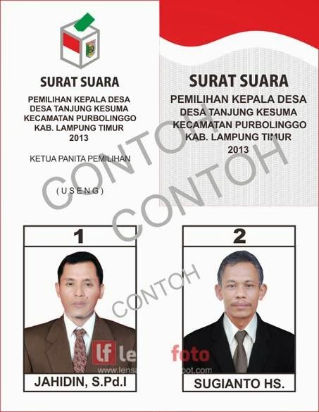 Lensa Wirausaha Pilkades Lampung Timur Menuju Masyarakat