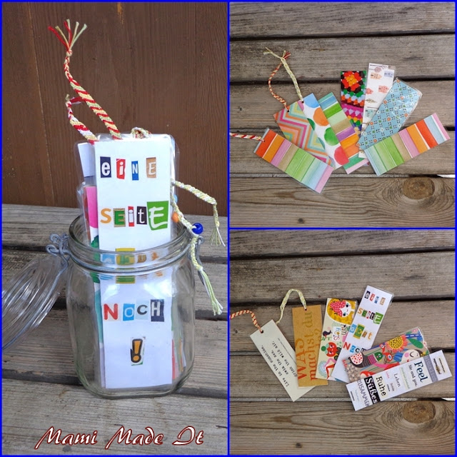 Recycling Project Bookmarks - Lesezeichen