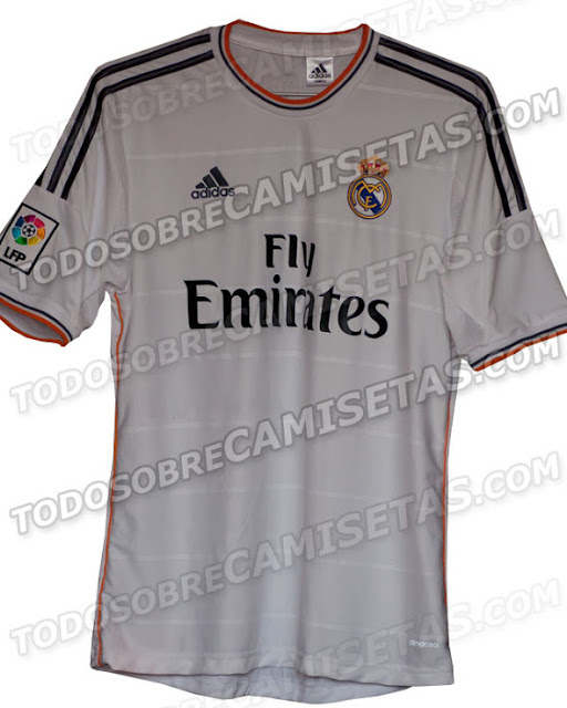 Kostum Real Madrid Musim 2013-2014