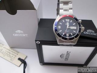 Đồng Hồ Orient Blue Mako Pepsi CEM65006D Automatic
