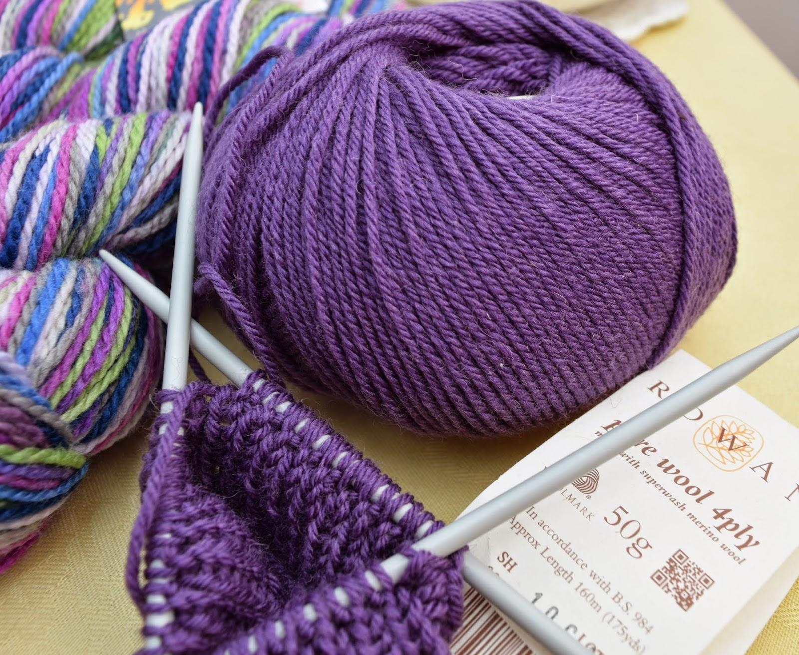 Rowan 4ply Marino wool