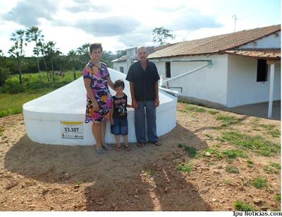 Em Ipu, 561 famílias estão cadastradas e aptas a serem beneficiadas com cisternas de placas