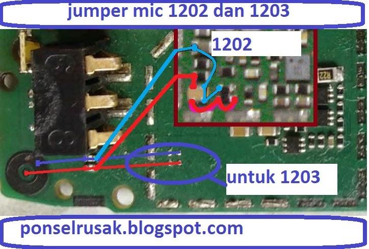 Cara memperbaiki kerusakan pada Nokia 1202 suara kita tidak didengar ...