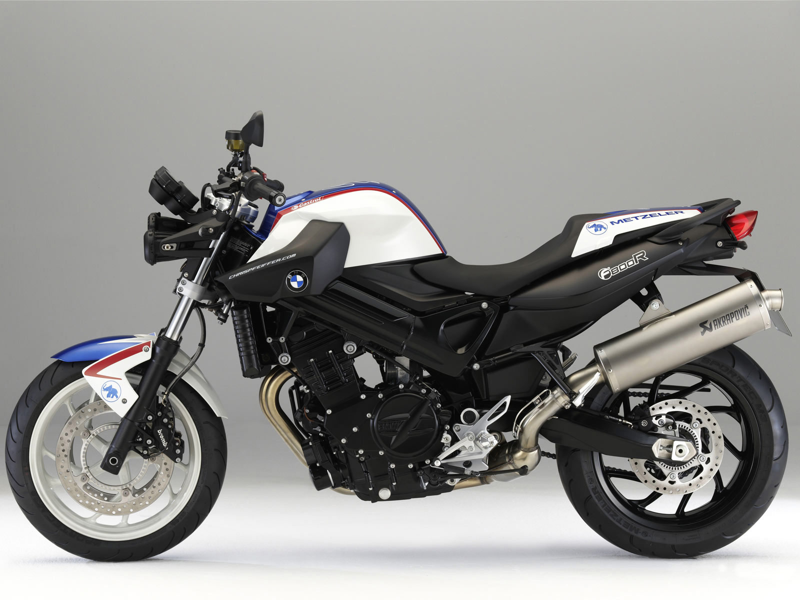 Bmw Automotive 2009 Bmw F800r Motorcycle Pictures