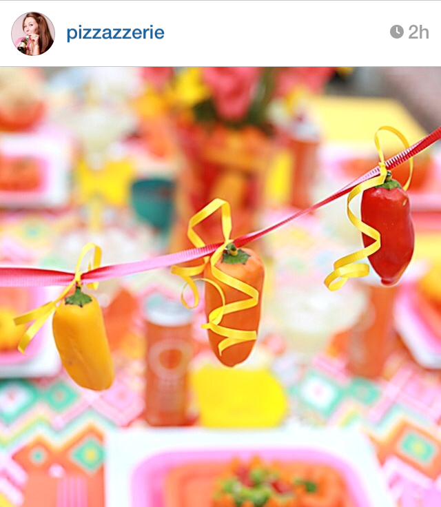 mini pepper garland