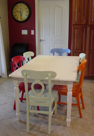 Kitchen Table &amp; Chairs (SOLD)